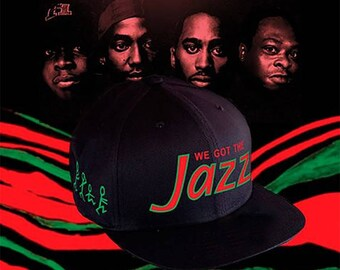 A Tribe Called Quest Jazz Snapback Low End Theory Q-Tip Phife Cap Hat