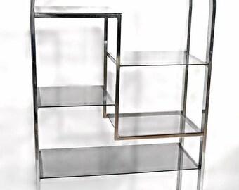 modern etagere etsy. Black Bedroom Furniture Sets. Home Design Ideas