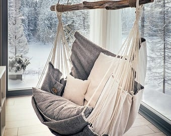Medium image of hammock chair for home  interior design and relax