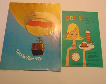 Gel It! and Dishes That Fly -Knox Gelatine Pamphlets