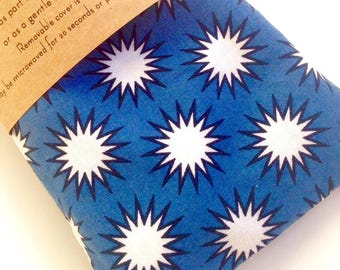Lavender eye pillow hot cold pack aromatherapy super hero stress headache relief relaxation gifts for him husband gifts travel accessories