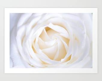 White Rose Fine Art Print, White Rose Wall Art, Elegant Rose Bouquet Art Print, White Rose Flower Photography, Flower Art Print
