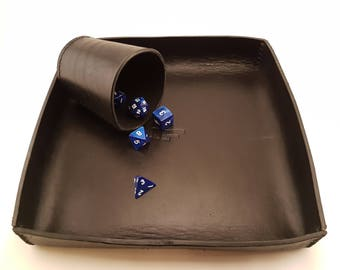 Pattern: Leather dice tray