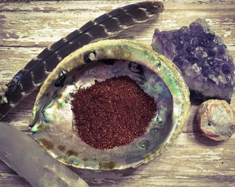 Dragons Blood Incense, Handmade loose incense, Powder Incense, Dragons Blood, Spiritual Incense, Natural Incense,