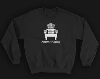 Adirondack Chair Crewneck | Hiking Sweater | Hiking Sweatshirt