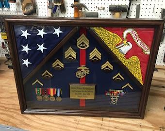 18 x 24 Military Shadow box