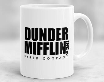 The Office Mug, Dunder Mifflin Mug, Dunder Mifflin Cup P151