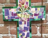 Handmade Mosaic Cross...