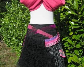 """Chiffonade"" OOAK original skirt."