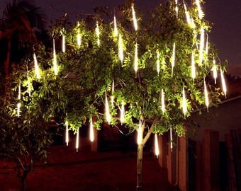 Custom sized custom length led rope lights for patio custom sized custom tubes 3528 smd 600 leds meteor shower waterproof rain light aloadofball Gallery