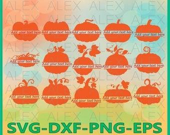 70% OFF, Pumpkin Split Monogram Svg, Pumpkin svg, Halloween svg, Pumpkin Pattern, Pumpkin Svg, Dxf, Eps, Png files, Silhouette Cut Files