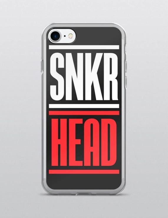 SNKR HEAD (Black) | iPhone Case