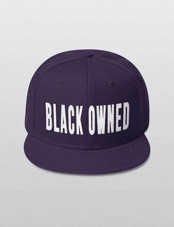 BLACK OWNED | Wool Blend Snapback Cap