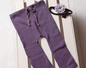 Sitter Upcycle Pants with Tieback