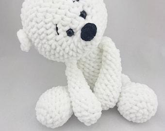 PDF Crochet Pattern ENGLISCH Micha Polar Bear
