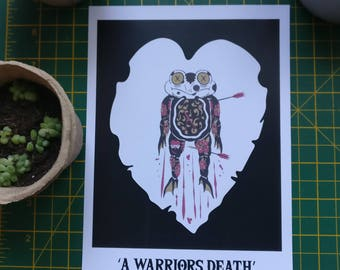 A Warriors Death - Digital Test Print