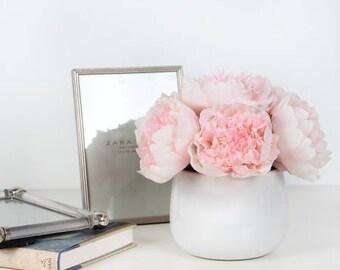Luxury Light Pink Peony Flower Arrangement