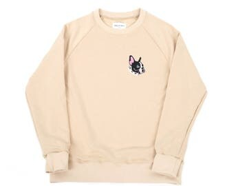 Sweatshirt with french bulldog