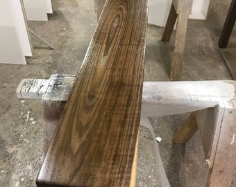 Black Walnut Box Mantel