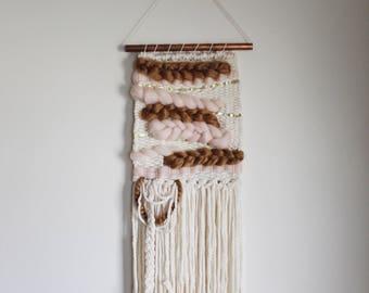TOPAZ - Woven Wall Hanging / Weaving / Wall Art / Woven Wall Art / Fiber Art