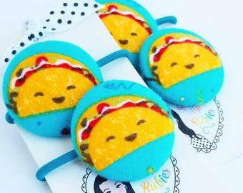 taco hair elastics hair ties for little girls hair accessories