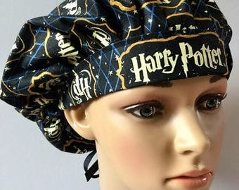 Harry Potter - Women's Surgical Scrub Hat, Bouffant Style