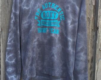 Rare quicksilver roxy tie dye sweatshirt