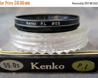 55mm Kenko PL (Polarizing) Lens Filter