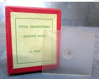 Prism Rangefinder Ground Glass Rollei in Box with Instructions