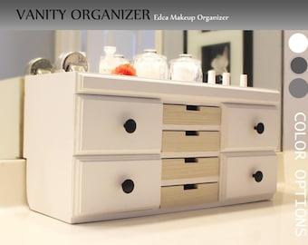 Makeup Organizer, Vanity Organizer, Makeup Brushes, Bathroom Organizer,  Nail Polish Organizer,