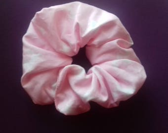Hair ruffle / scrunchie horse pony equestrian pink