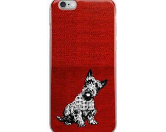 Schnauzer Funny iPhone Case - Iphone 7 case - Iphone 8 case - Iphone 7 plus case - Iphone 6 case - Iphone X case