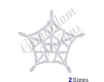 Fancy Snowflake - Machine Embroidery Design