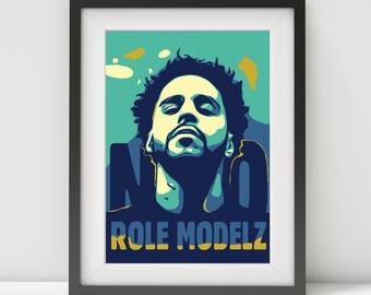 j cole, j cole poster, j cole print, j cole art, j cole quote, quote poster, music poster, rap poster, hip hop poster, pop art, art print