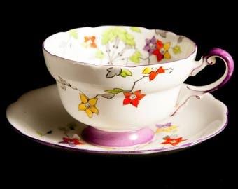 Art Deco Paragon Teacup and Saucer