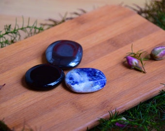 Body regeneration-mixture-sodalite-onyx-hematite-gemstone-healing stone-healing stone water-stone water-gift-drink-set