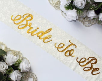 Bride Sash Bridal Sash Wedding Sash, Bachelorette sash, Bridesmaid gift, Bride Gift, Bachelorette party, Hen party, Bridal party, BRIDE