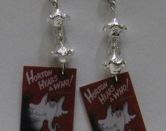 Horton Hears A Who Mini Book Earrings E9