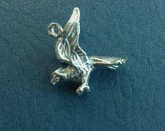 Sterling Silver Eagle Charm