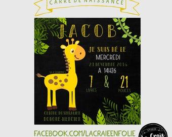 Custom poster (my love Giraffe)