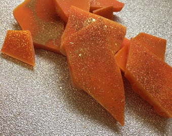 Tropical Glow Wax Melt Brittle Bags - Highly scented, Handmade, Gift 60+g