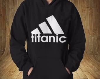 Titanic Funny Famous Logo  Mockery Sweatshirt Hoodie