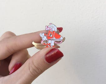 Pink Panther Brooch in ski