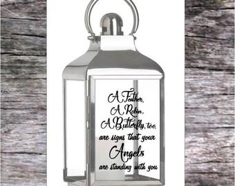 Lantern sticker for memorial remembrance wedding lantern(STICKER ONLY)