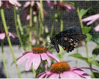 Pipevine Swallowtail Butterfly photograph puzzle | Original Art | 252 pieces | 10x14