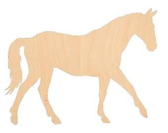 Horse 1 - Laser Cut Shapes - LCSH-104