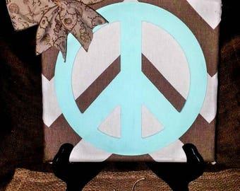 Peace sign art, Peace wood wall hanging, Peace sign wall art, wood plaques, wall hanging, hippie home decor, hippie beach decor