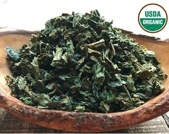 ORGANIC STINGING NETTLE, 16oz, Nettle Leaf, Urtica dioica, Nettle Tea, Organic Herbs