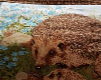 Quilt - Handmade by my mum - Hedgehog