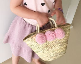 Small Ibiza bag basket for kids
